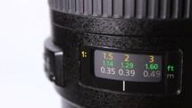 Adjusting focus of lens of the camera - macro