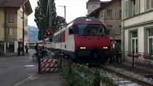 incoming train