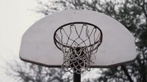 outdoor basketball goal