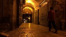 Walking Jerusalem streets