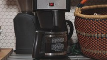 coffee maker brewing coffee