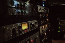 control room sound meters