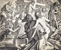 The Prophet Isaiah, Isaiah, biblical scene, biblical figure