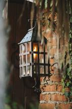 gas lantern entryway lamp