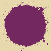purple splatter dot