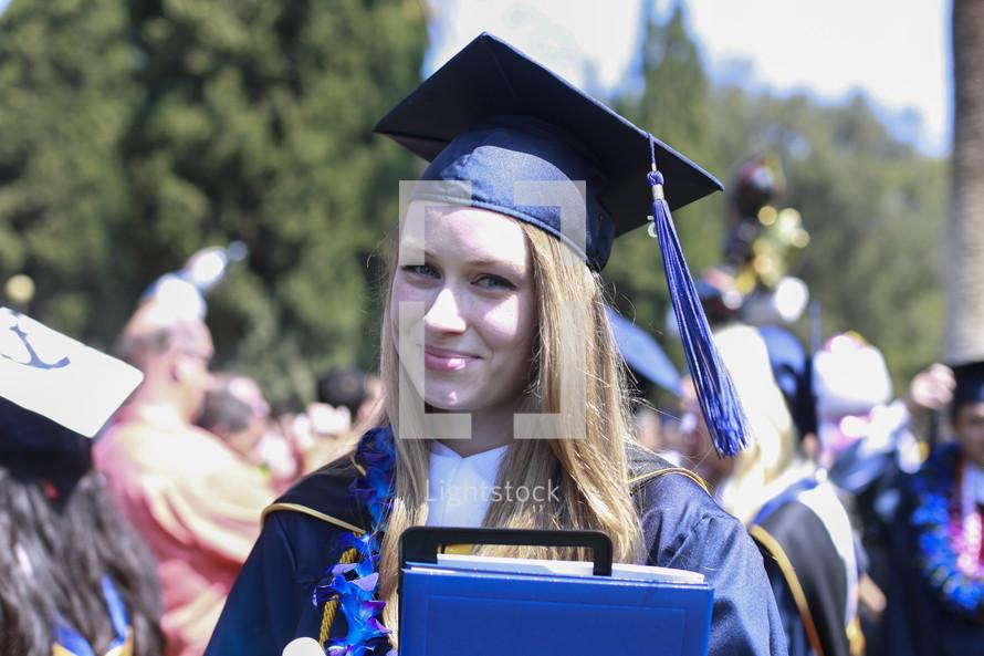A proud graduate