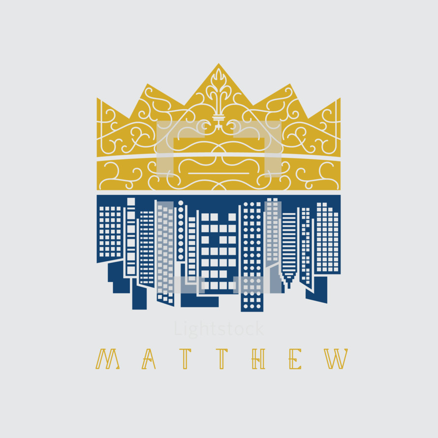 Matthew, crown, city, cityscape, unhidden media