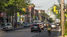 Queen and Niagara Streets Toronto