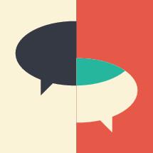 conversation concept.