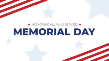 Honoring All who Served - Memorial day
