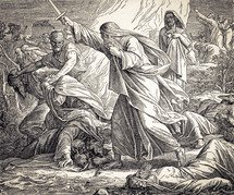 Elijah Kills the Prophets of Baal, 1 Kings 18:36-40