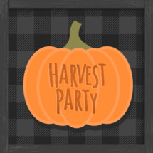 halloween alternative harvest party festival church outreach graphic
