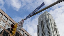 Yonge and Eglington Street Sign