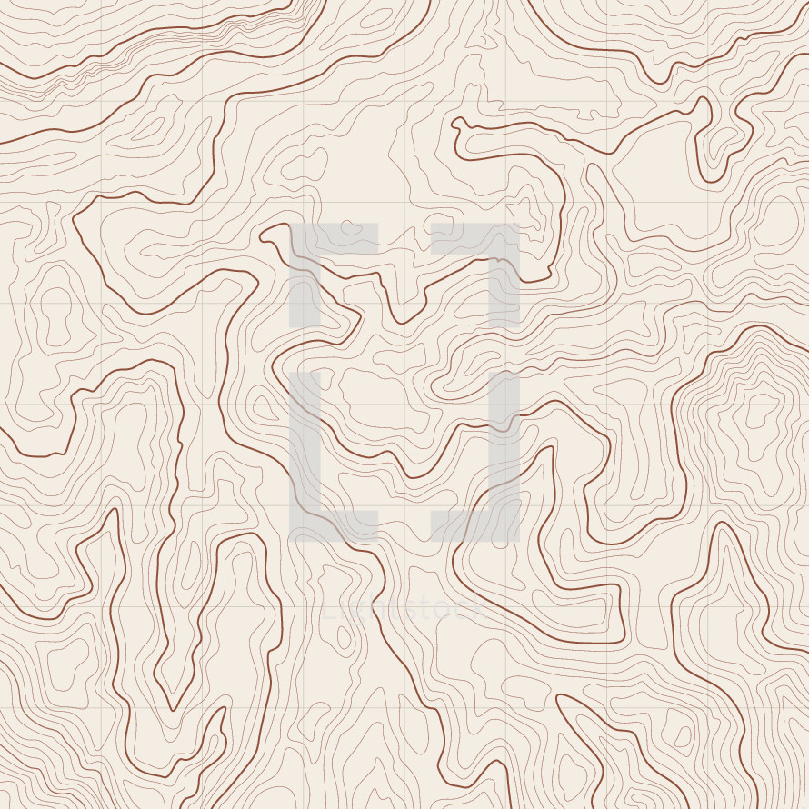 Topographic map background