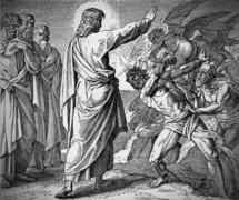 Healing of two Demon-possessed Men, Matt 8, 28-34