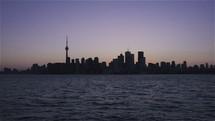 Toronto, Canada skyline at night