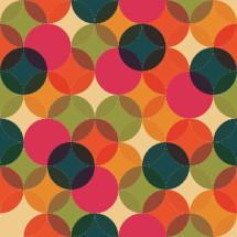 colorful circle pattern.