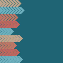 colorful arrows border