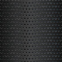 black punched metal background