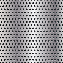 stainless steal punched metal background