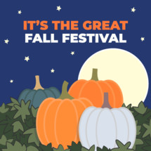 great pumpkin party fall festival invitation slide social