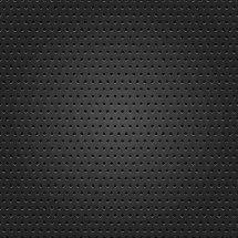 black textured background. Black perforated metal surface. Dark punched texture with holes in the form of circles. Seamless pattern for a background. The graphic element saved as a vector illustration in the EPS file format for used in your design projects.