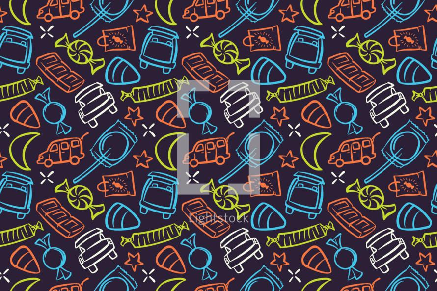 trunk or treat pattern