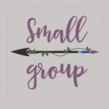 Editable Small Group Vector Image
