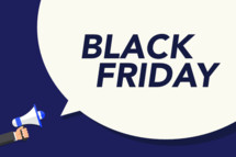Black Friday announcement
