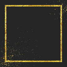 gold paint splatter frame