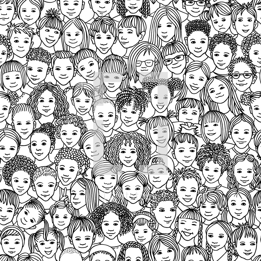 faces of kids