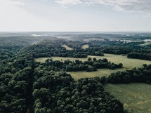 green land below