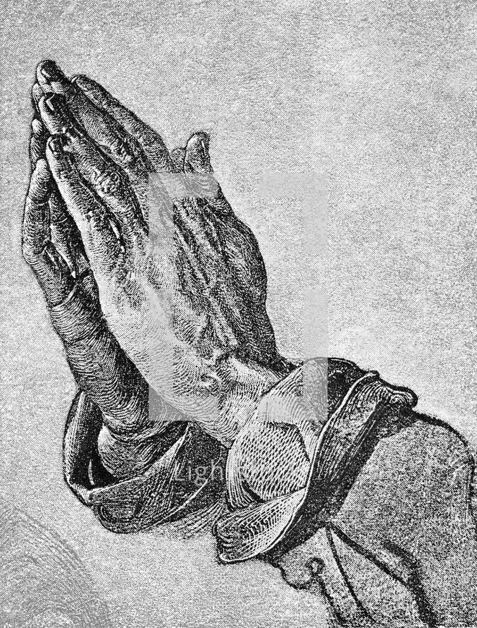 Praying Hands, Albrecht Durer, 1471 - 1528