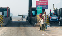 toll booths in Mandawa, India