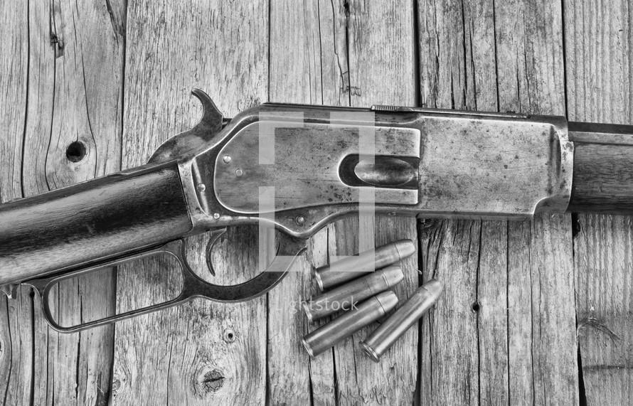 antique shotgun
