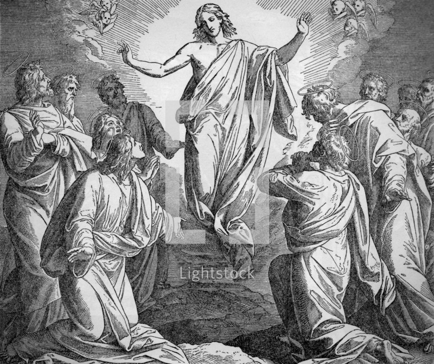 The Ascension, Luke 24:50-52