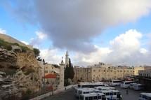 Skull Hill, outside Jerusalem's Old City wall
