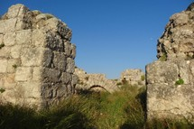 Ruins at Beth Shemesh, where the ark of the covenant was returned