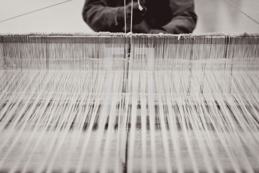 weaving loam