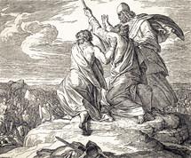 The Amalikites Defeated, Exodus 17:8-13