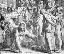 Jesus and the adulterous woman, John 8: 4-11