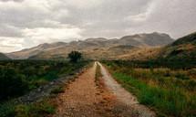 dirt road in West Texas