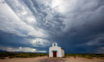 rural chapel in west Texas