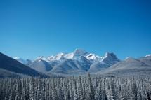 winter scene on Mount Loughead