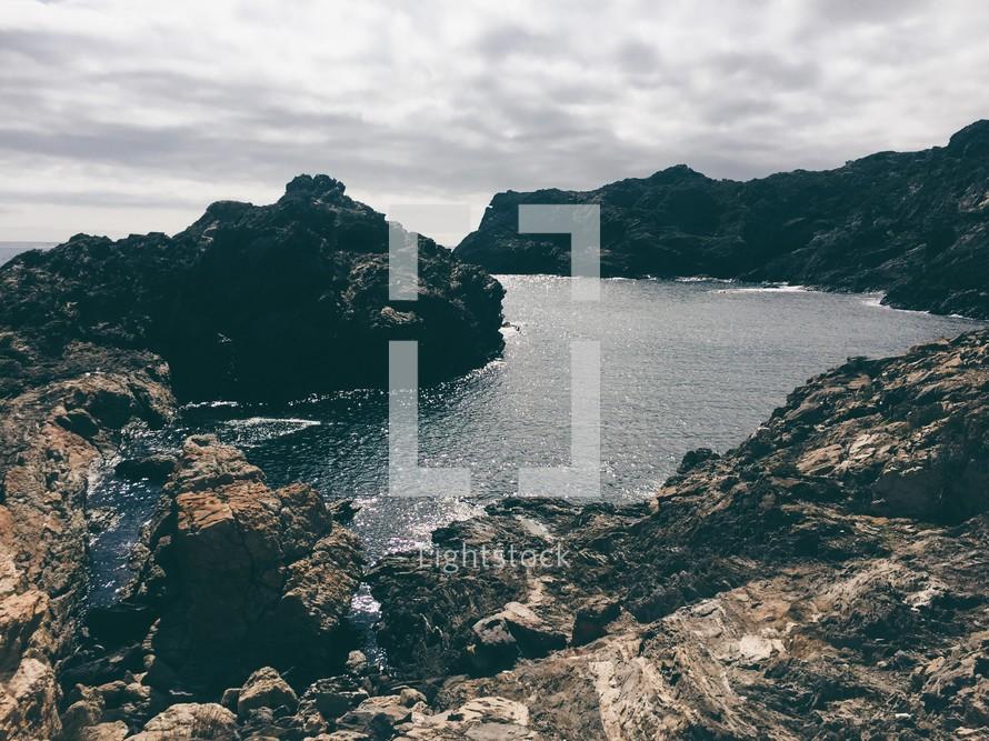 rocky lagoon