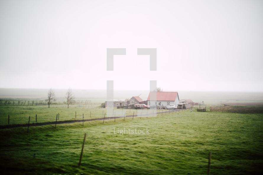 farmhouse in Iceland