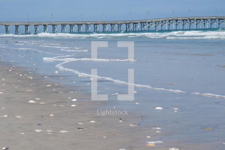 Topsail Beach pier