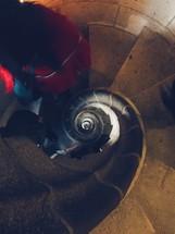 spiral stonework