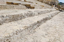 The Southern Temple Mount steps.