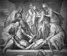 The Burial of Jesus. John 19, 38-42
